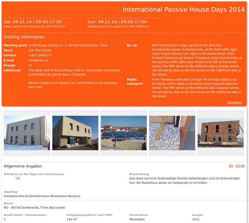 International Passive House Days 2014